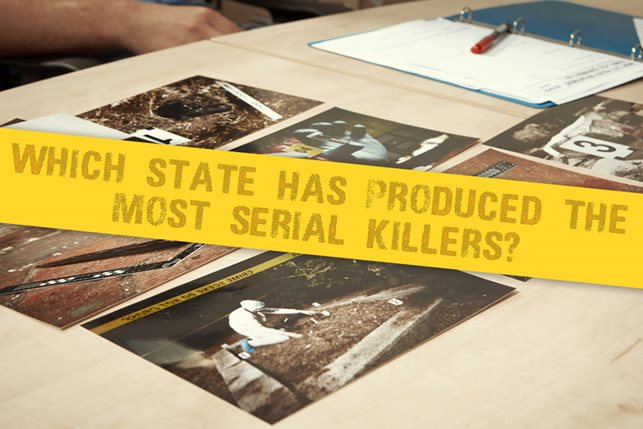 which state produced more serial killers