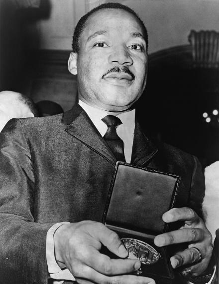 Close up photo of dr Martin Luther King