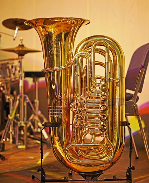 Large brass instrument