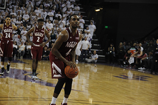 Ian Baker guard for NMSU