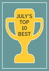 July's Top 10 Best Sellers
