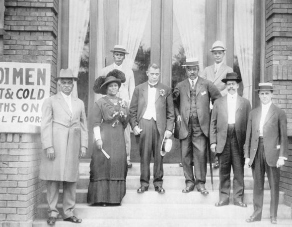 1913 Dedication Ceremony of Senate Avenue YMCA