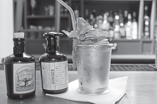 A Hudson Mint Julep. Reprinted from Sprits and Cocktails of Upstate New York by Don Cazentre courtesy of the author (pg. 19, The History Press, 2017).