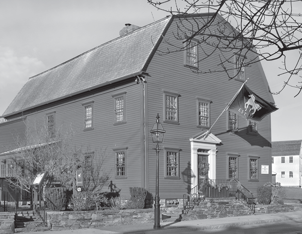 The White Horse Tavern in Newport, the oldest tavern in the US. Reprinted from Pirates of Colonial Newport by Gloria Merchant courtesy of Helene Scola (pg. 52, The History Press, 2014).