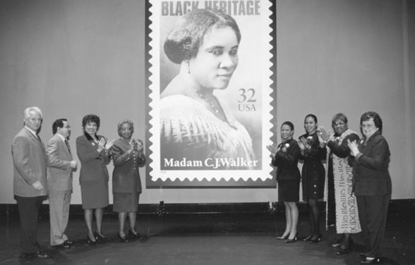 Madam C.J. Walker Stamp